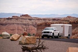 Read more about the article Can An F-150 Pull A Toy Hauler?