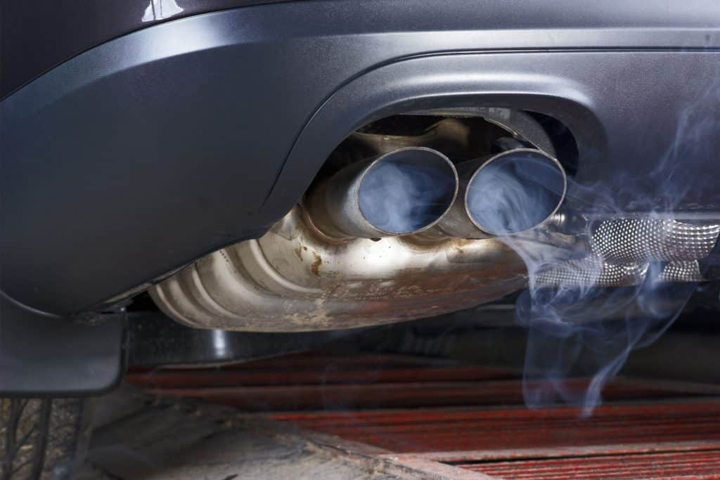 Smoke coming out of the exhaust of a car, Smoke Coming From Exhaust—Here's What Could Be Wrong