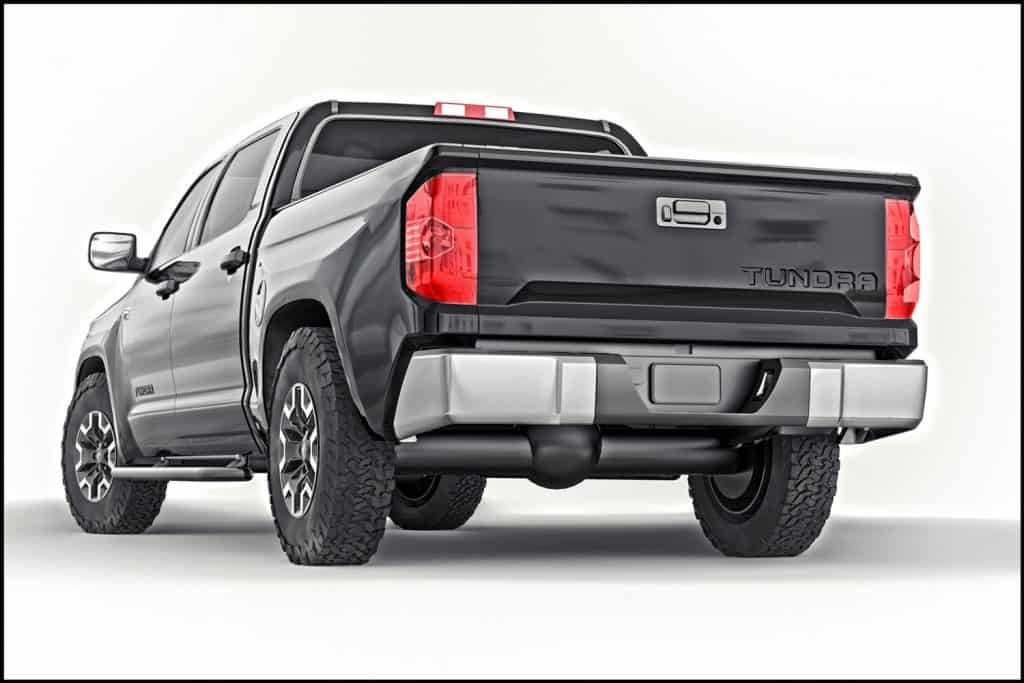 Toyota Tundra 2020 full size pickup black truck isolated on white background, Toyota Tundra Not Starting—What Could Be Wrong?