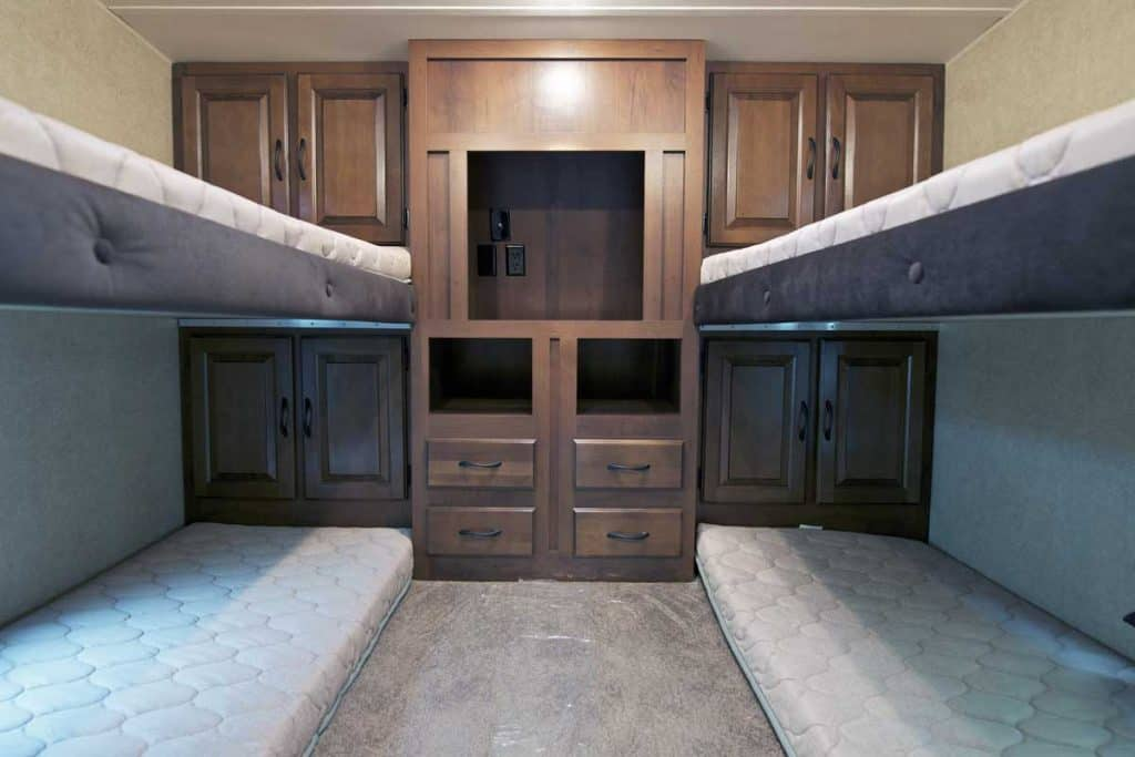 Travel trailers with bunk beds, 6 Great Toy Haulers With Bunk Beds