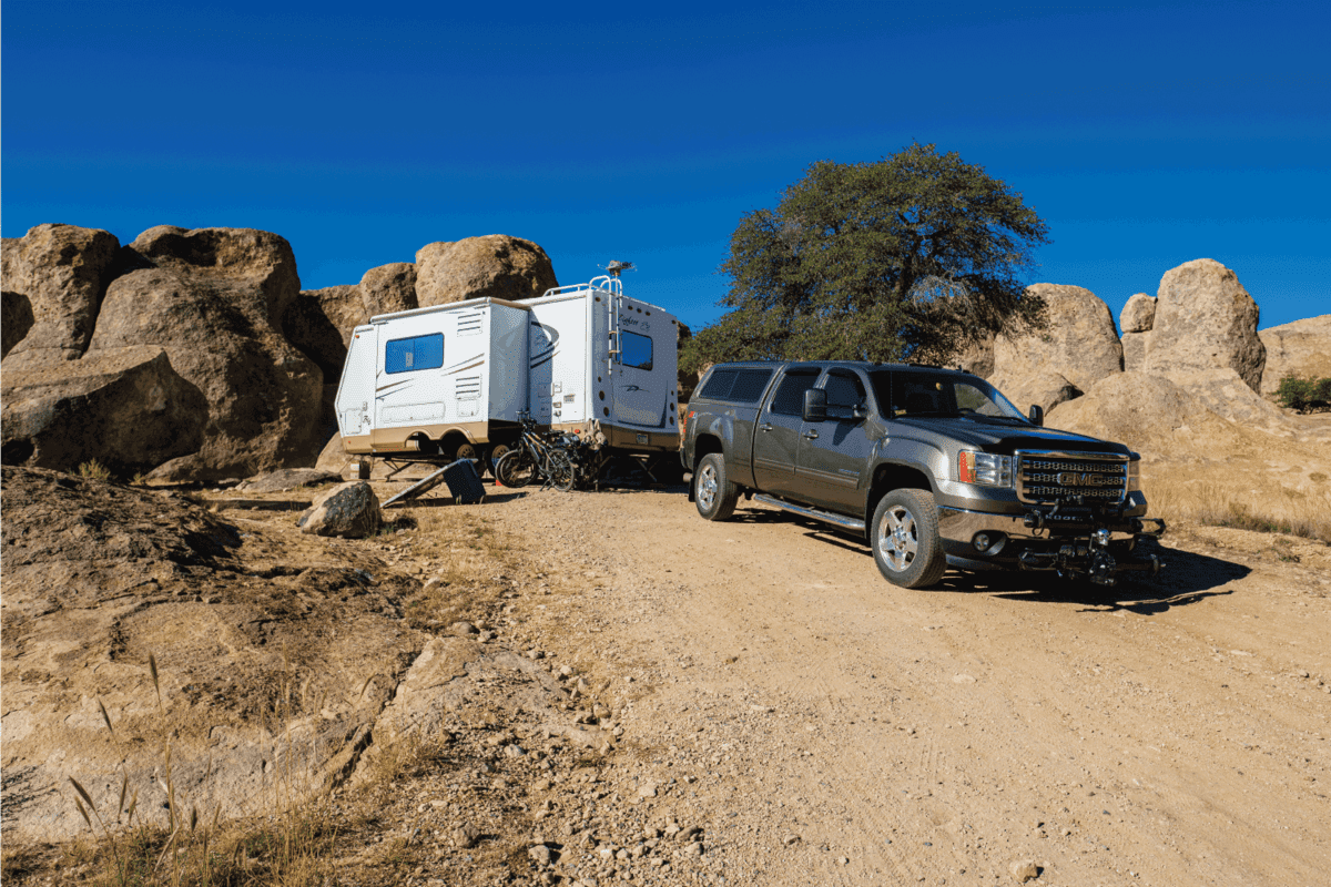 the City of Rocks State Park, with its volcanic rock formations, is a popular camping site near the city